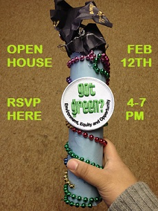 RSVP to Got Green Open House on February 12th