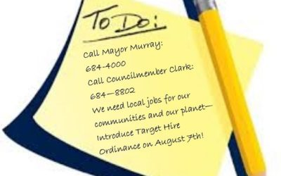 Call Mayor Murray and Councilmember Clark: Targeted Hire NOW!