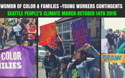 Save the date for the Seattle People's Climate March 2015