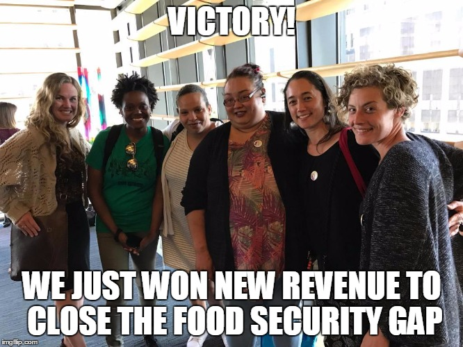 Our Food Security Victory!