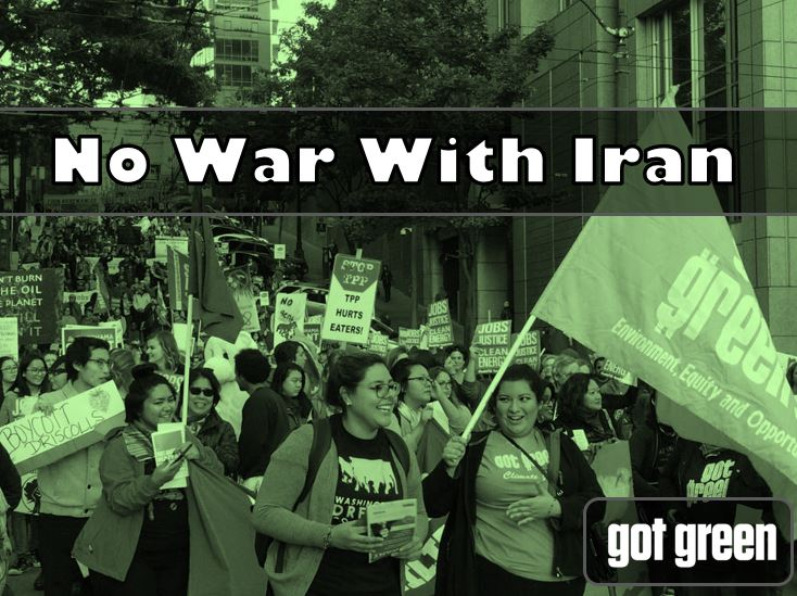 No War With Iran